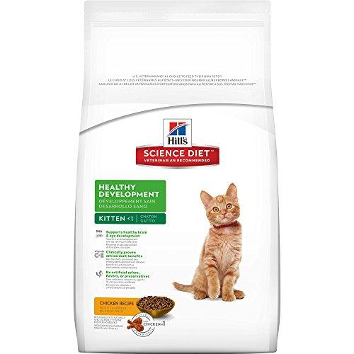 Hill's Science Diet Kitten Healthy Development Chicken Recipe Dry Cat Food, 7 lb bag