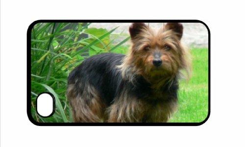 Australian Terrier IPHONE 4/4S, colore: nero, 19 cm
