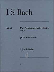 Well-tempered Clavier Bwv 846-869 Vol 1 - Piano - Hn 14 from G. Henle Verlag