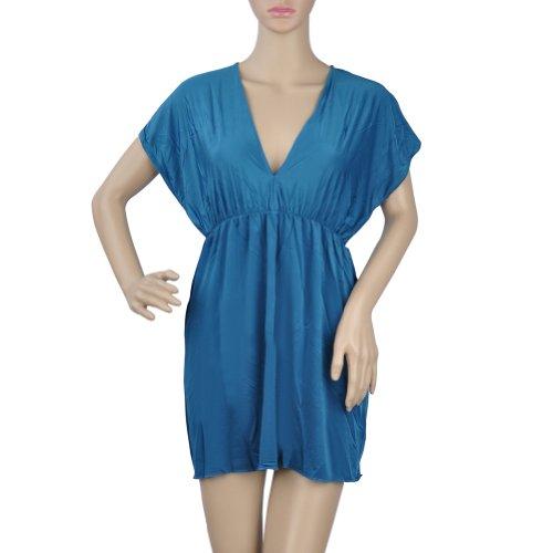 Toptie V Neck Beach Dresses, Cover-Up Wrap Dress