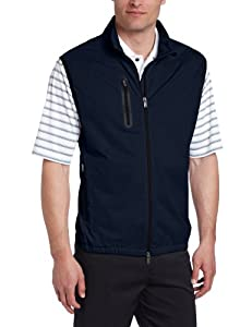 Greg Norman Collection Mens Full Zip Tech Vest by Greg Norman