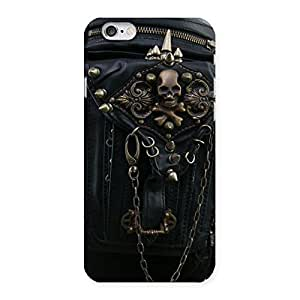 Ajay Enterprises Dangeress Zip Chain Back Case Cover for iPhone 6 6S