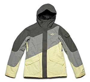 Ripcurl Twister Women's Snow Jacket - Gunmetal, X-Small