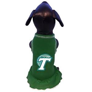 Buy NCAA Tulane Green Wave Cheerleader Dog Dress, Tiny by All Star Dogs