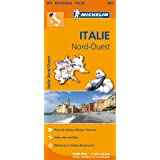 Carte Italie Nord-Ouest Michelin