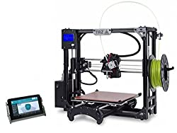 LulzBot Taz 5 Open Source 3D Printer with MatterControl Touch Controller