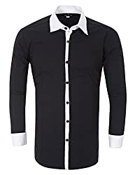 Paul Jones® Fashion Slim Fit Shirts for Men Long Sleeve Korean Style CL1171