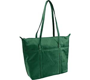 ili Leather Tote Handbag
