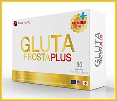 Gluta Frosta Pluse 30 Capsules Vitamin C Skin Whitening
