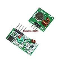 50lot+FREE Tracking 433Mhz RF transmitter and receiver link kit Remote control
