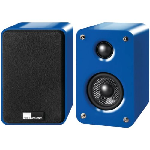 "Pure Acoustics Dreambox Blue 3"", 2-Way Dreambox Speakers (Blue)"