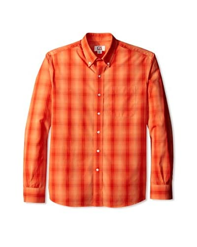 Cutter & Buck Men's Long Sleeve Perfect Game Plaid Shirt