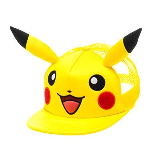 Gorro con orejas Pokémon Pikachu