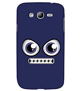 PRINTSWAG ANGRY SMILEY Designer Back Cover Case for SAMSUNG GALAXY GRAND I9082