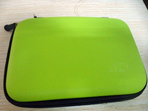 Portable Hard Case Box Cover Bag Compatible For Wd Western Digital Elements My Passport Slim/Ultra Hard Drive 1Tb Color Green