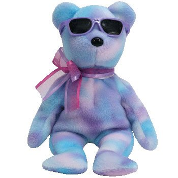 1 X TY Beanie Baby - CHERRY ICE the Bear (Summer Gift Show Exclusive)