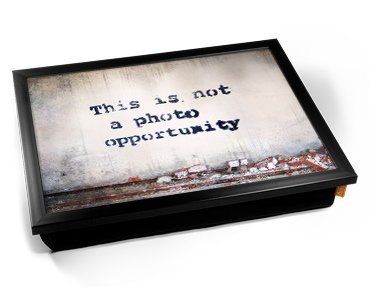 Banksy Photo Opportunity Cushion
