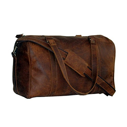 LUST-Crazy-Horse-Leather-Travel-Duffel-Bag-Boarding-Luggage-Carry-On-Gifts-for-Men-Women