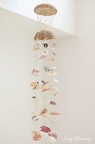 【ココトップ ヤシ 】48-1-2320風鈴 チャイム 玄関 ガーランド 結婚式 貝 貝殻 貝殻 インテリア 貝殻 セット シェル