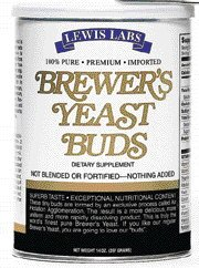 Imported Premium Brewer`s Yeast - Buds, 14 oz ( Multi-Pack)