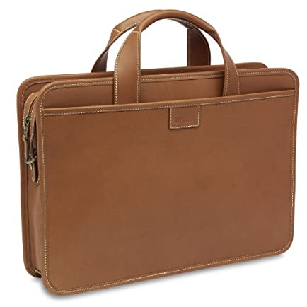 Hartmann Belting Leather Zip Top Briefcase