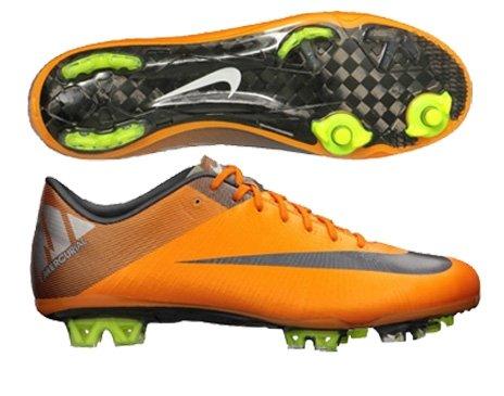 70cdcf785b9 Nike Mercurial Vapor Superfly III FG Mens Soccer Cleats  441972-800  Orange  Peel