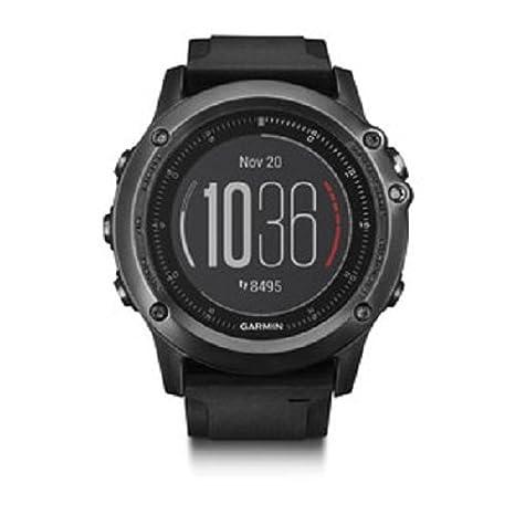 Montre GPS Garmin Fēnix 3 Sapphire HR avec cardio au poignet