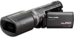 Panasonic HDC-SDT750EF Caméscope full HD 3D à carte SD Zoom intelligent 18x
