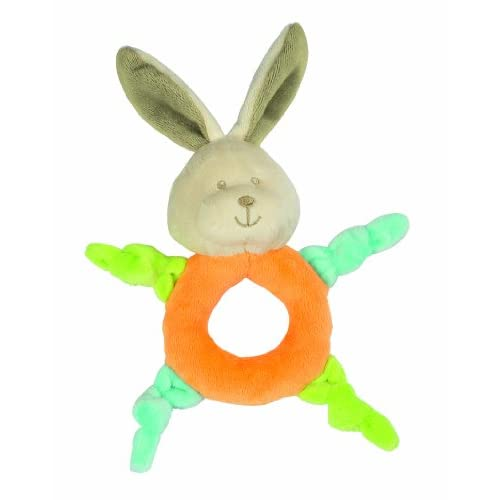 Fashy-1232-Plush-Grab-Toy-Rabbit-with-Rattle