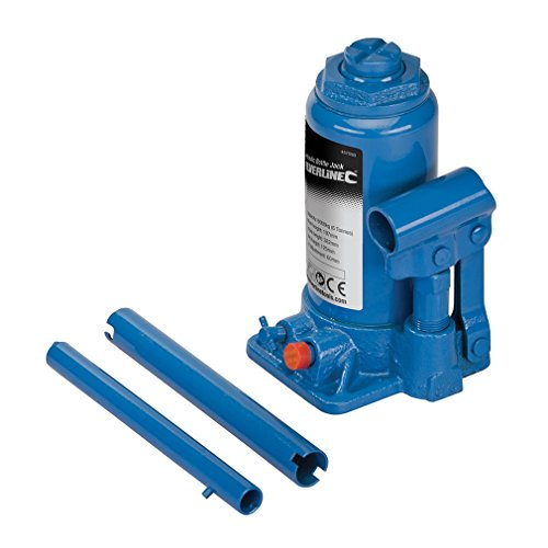 Silverline 457050 Hydraulic Bottle Jacks 6 Tonne