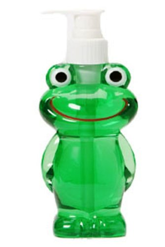 Splash! By Upper Canada Soap & Candle  Frog Liquid Soap Dispenser With Hand & Body Wash 7.1-Ounces