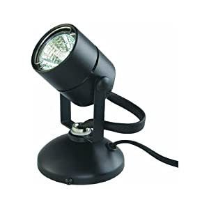 GOOD EARTH LIGHTING G19920-BK-I Micro Halogen Spot Light, Black