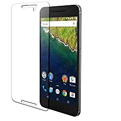 Seidio VITREO Tempered Glass Screen Protector for Huawei Nexus 6P - Retail Packaging - Clear