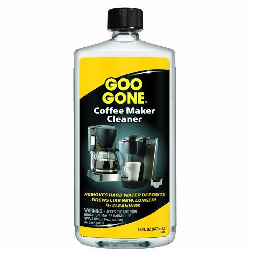 Coffee Brewer Cleaner : Goo Gone Coffee Maker Cleaner, 16 Fluid Ounce from Goo Gone at the Coffee Maker World