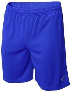 TREN Herren COOL Polyester Mesh Performance Short Sporthose mit Seitentaschen Royalblau 440 - XXL