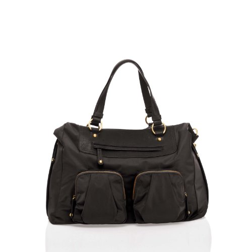 TWELVElittle Allure Convertible Satchel, Black