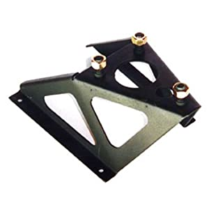 Omix-Ada 12021.11 3 Bolt Style Tire Carrier for Willys MBs/Ford GPWs