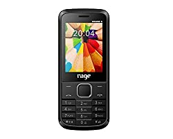 Rage Power X Dual SIM with Camera,FM,Bluetooth, MP3 Player & 3000 Mah Battery (Black+Grey)