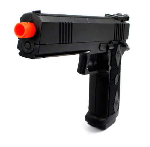 Armed Defense Electric Blowback Airsoft Pistol Full Auto & Semi Auto Fps-180 Aep Realistic Blowback