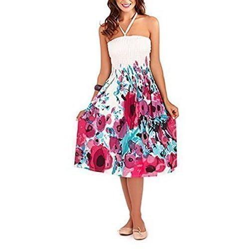 Pistachio, Ladies Floral 3 in 1 Cotton Summer Dress, UK Sizes 8-22, Multiple Colours