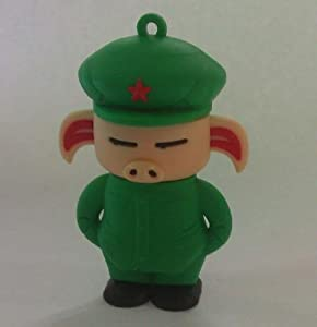 Euroge Tech 8GB USB Flash Drive Memory Stick Army Pig