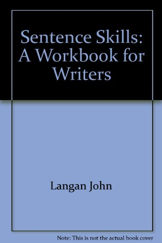 Sentence skills: A workbook for writers PDF