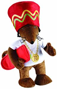 Character Options 9-inch Rastamouse Plush with Music and Phrases
