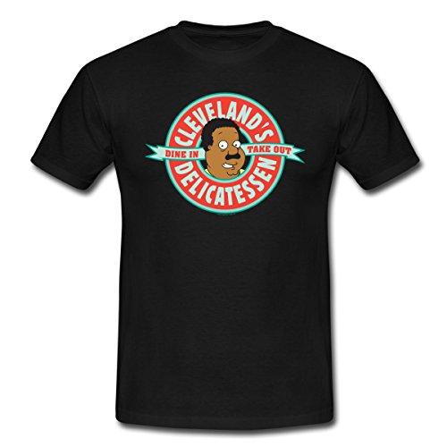 les-griffin-family-guy-cleveland-t-shirt-homme-de-spreadshirtr-m-noir