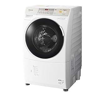 パナソニック 7.0kg ドラム式洗濯乾燥機【左開き】クリスタルホワイトPanasonic プチドラム エコナビ ECONAVI ヒートポンプ乾燥 NA-VH320L-W