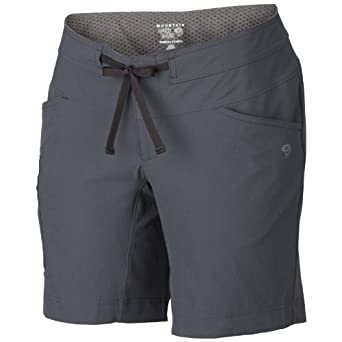 Amazon.com : Mountain Hardwear Women's Yuma Short, Black, 4 : Sports