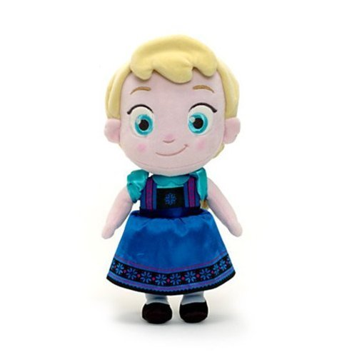 "Disney Toddler Frozen Elsa Plush Doll Toy 12"" - 1"
