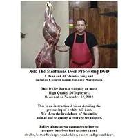 Deer Processing DVD
