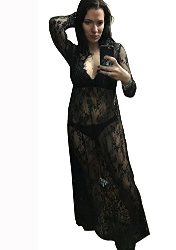 sexy-deep-v-neck-long-sleeve-lace-beach-dress-see-through-maxi-dress-plus-size-4xl