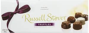 Russell Stover Chocolate Truffles, 12-Ounce Boxes (Pack of 3)